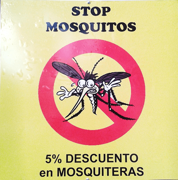 Dile stop a los mosquitos
